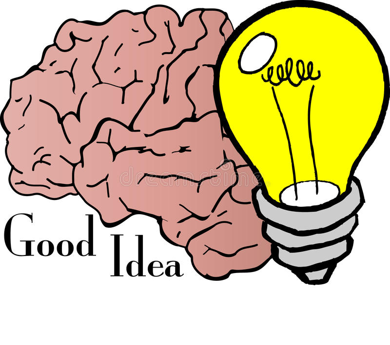 Download Good Idea stock vector. Image of create, thinking, education - 16490663