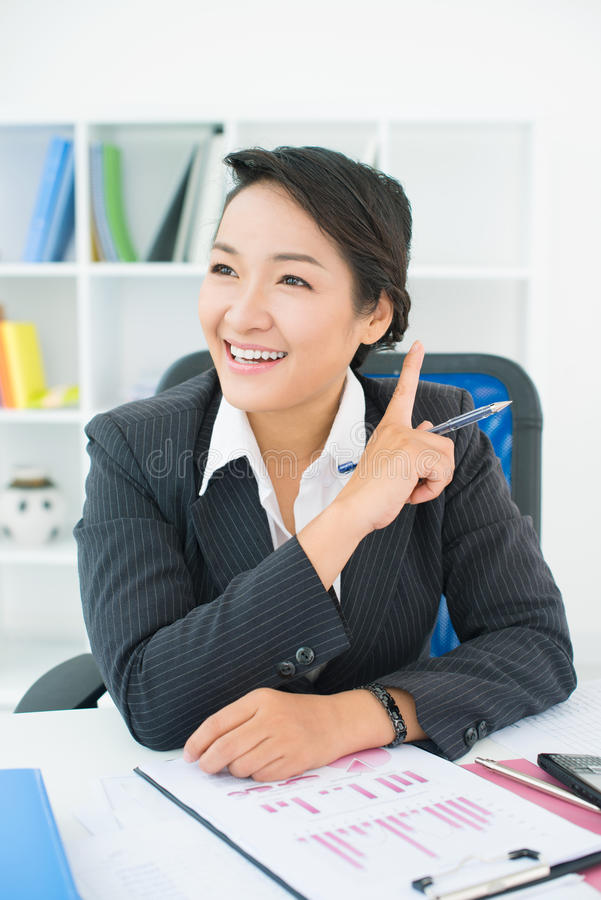 Download Good idea stock image. Image of attractive, businesswoman - 28928647