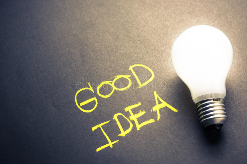 Good Idea royalty free stock images