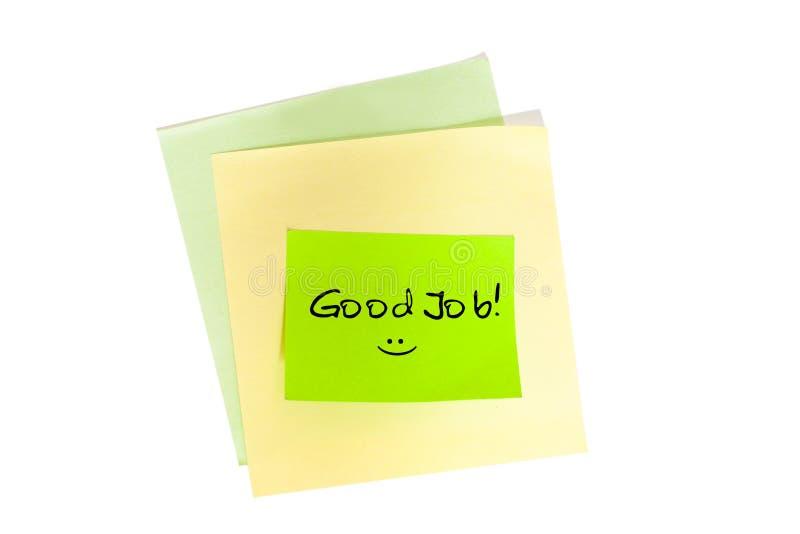 Download Good Job stock image. Image of advertisement, remember - 27369611