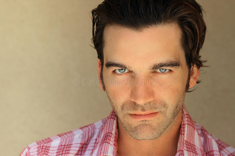 Good looking guy portrati royalty free stock image