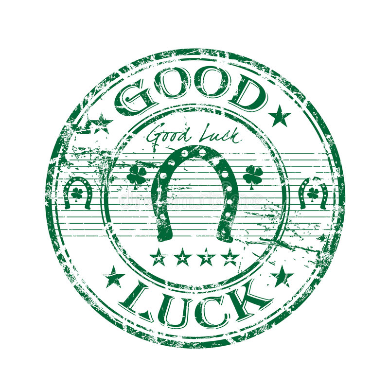 Free Good Luck Rubber Stamp Stock Photography - 8581312