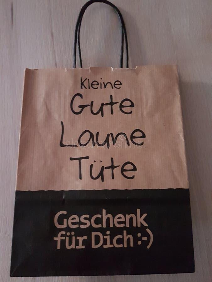 Good mood bag stock photo