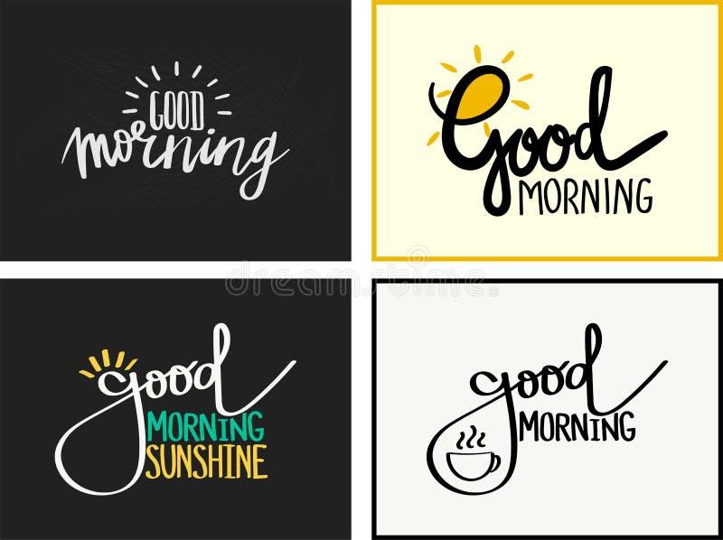 Good Morning vector illustration