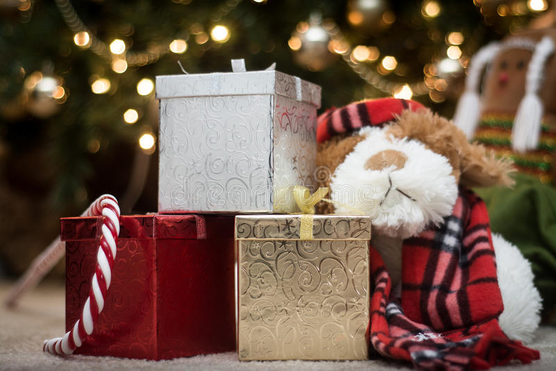 Good Morning, it's christmas stock image