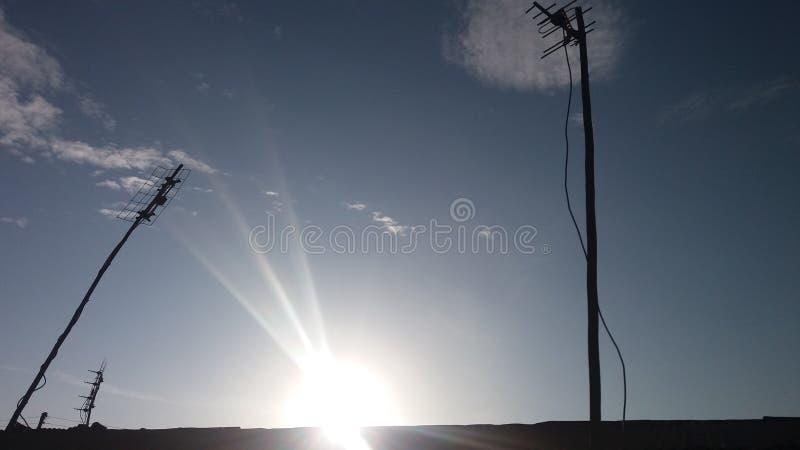 Good morning. Sun, rise, slams royalty free stock photos