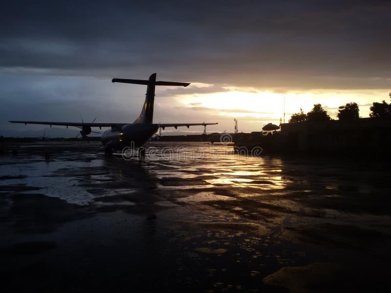 ATR 42-500 royalty free stock photo