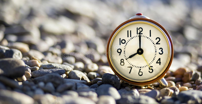 Good morning! Time concept stock image