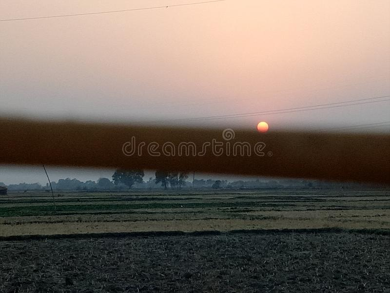 Good Morning. Very good and beautiful morning sun rizing royalty free stock photography