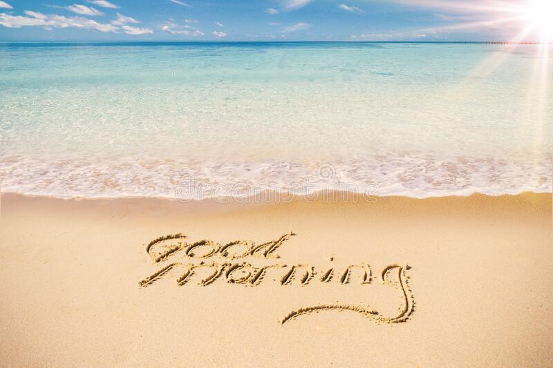 131 Good Morning Sandy Beach Photos - Free & Royalty-Free Stock Photos from Dreamstime