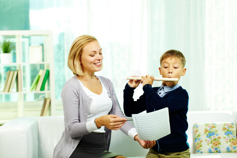 Download Good music stock image. Image of preschooler, adult, beginner - 24514211