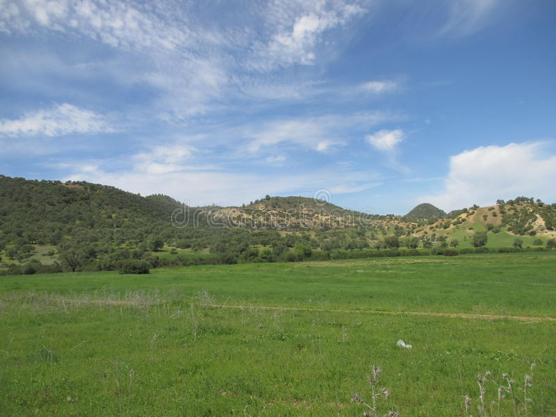 Good nature. North morocco ouezzane stock photography