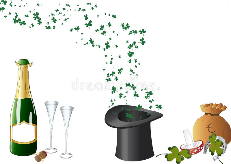 Good New Year Royalty Free Stock Images