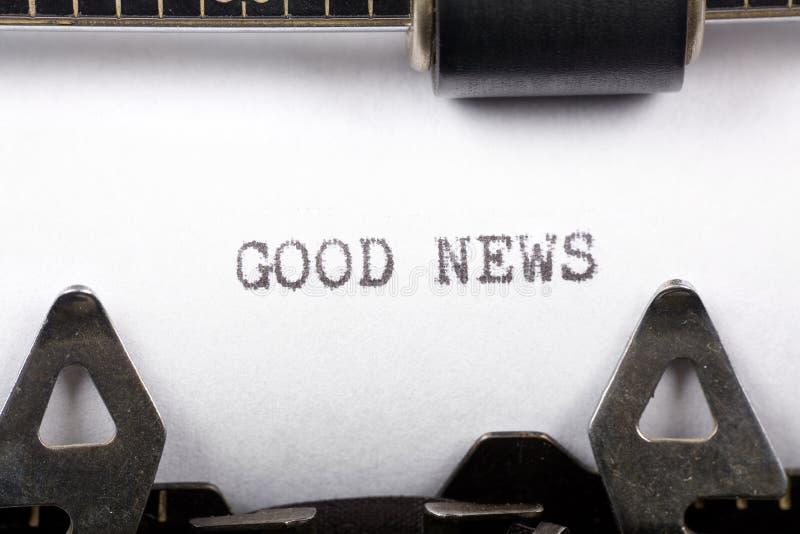 Good News royalty free stock image
