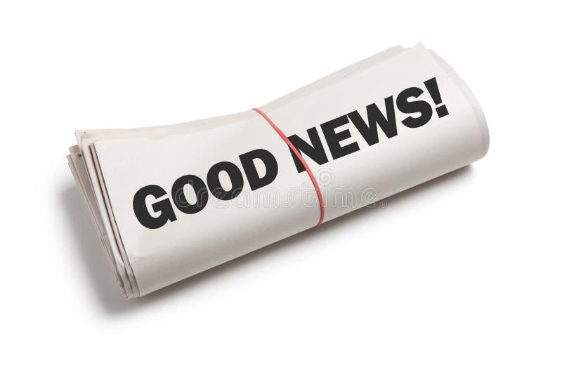 Good News stock photography