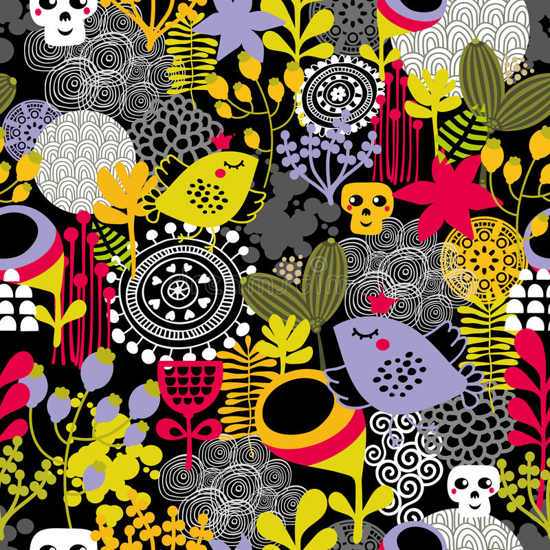 Download Good Night Seamless Pattern. Stock Vector - Image: 34249987