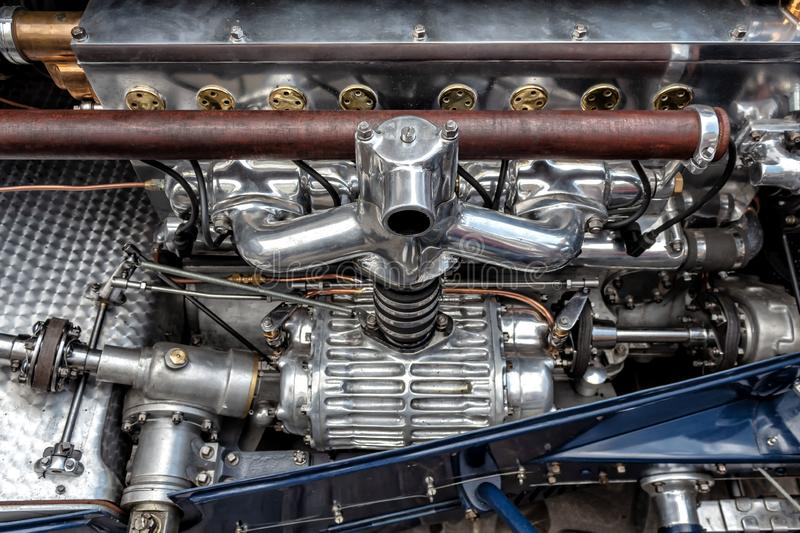 The good old engine royalty free stock photo