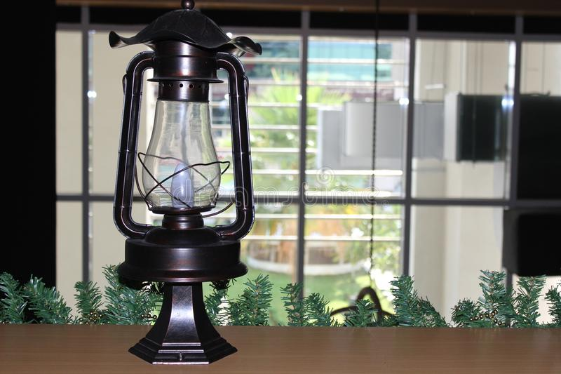 Good Ole Lamp royalty free stock image