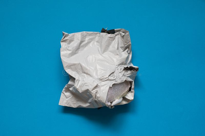 Good picture to show bad work of post service. royalty free stock photos