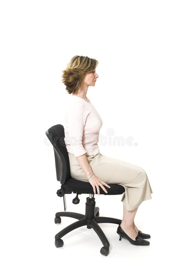 Free Good Posture Royalty Free Stock Image - 753826