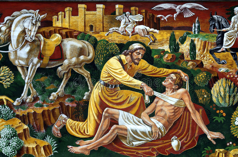 The Good Samaritan. A photo of the good Samaritan