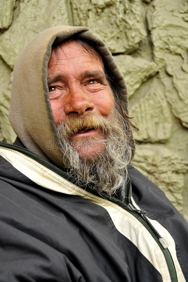 Download Good Spirited Homeless stock image. Image of angle, color - 13737471