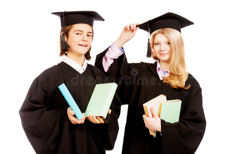 Good students stock images