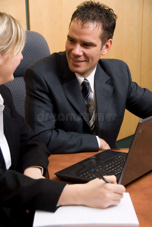 Download Good team stock image. Image of businessman, laptop, notes - 2097417