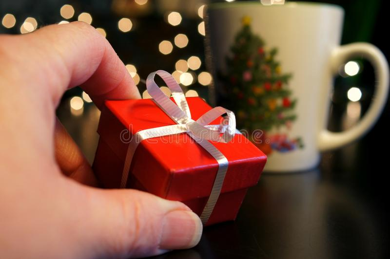 Good things come in small packages royalty free stock image