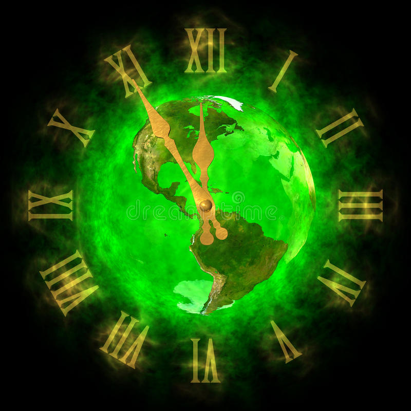Download Good Time On Green Planet Earth - America Stock Illustration - Image: 23910742