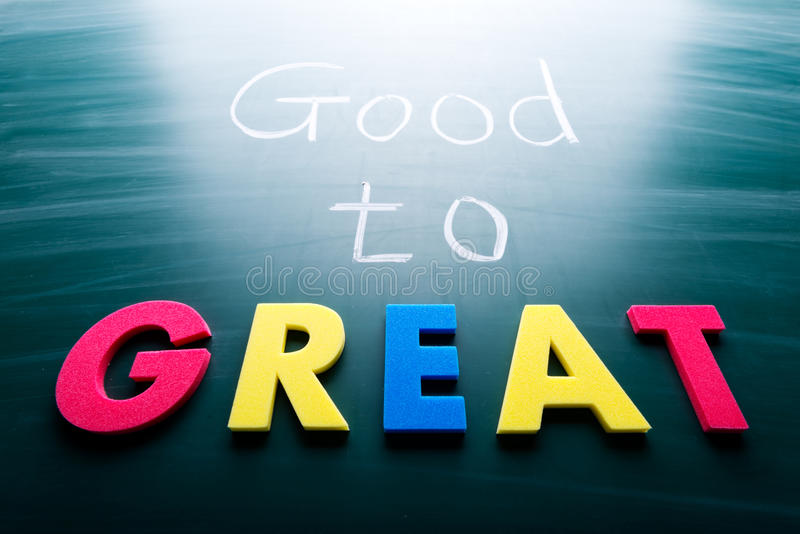 Download Good to great stock image. Image of board, believe, idea - 30152661
