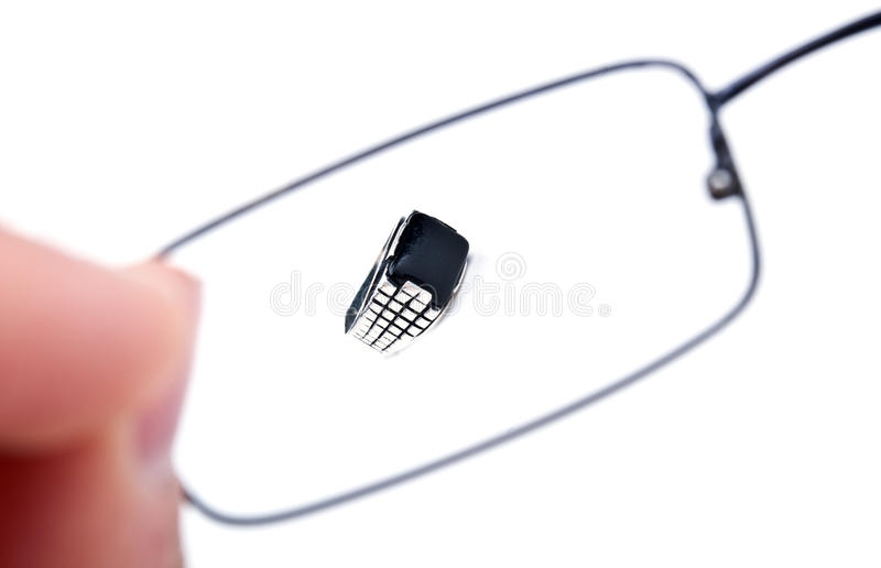 Download Good vision with glasses stock image. Image of fashionable - 19221701