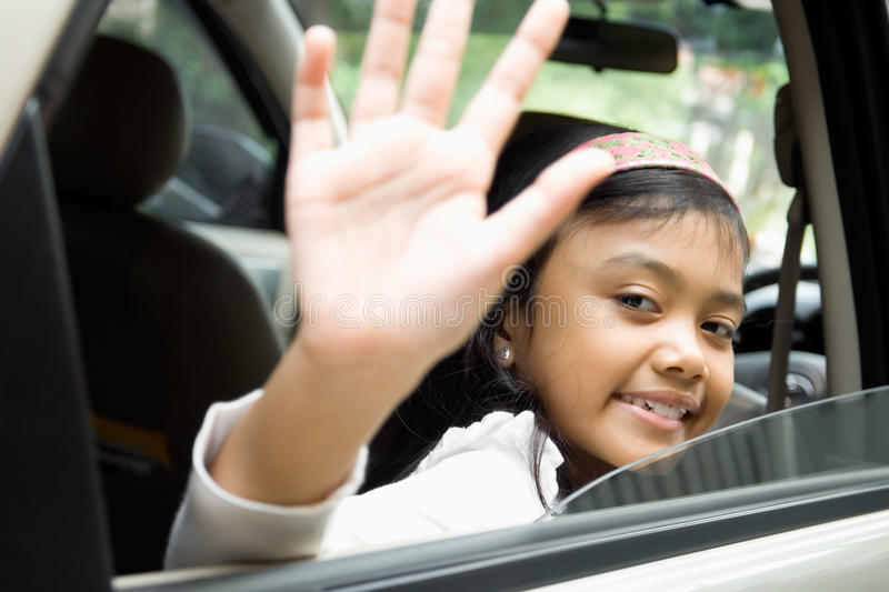Download Goodbye stock photo. Image of child, leave, hand, travel - 10412976