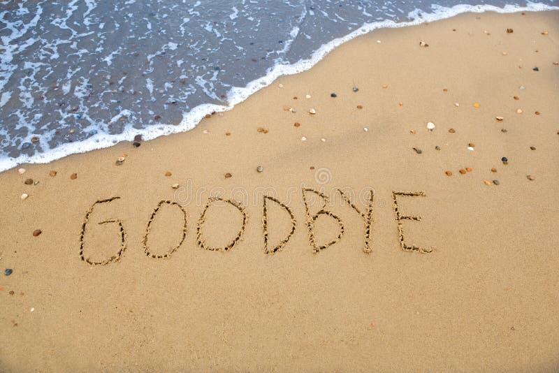 goodbye стоковое фото