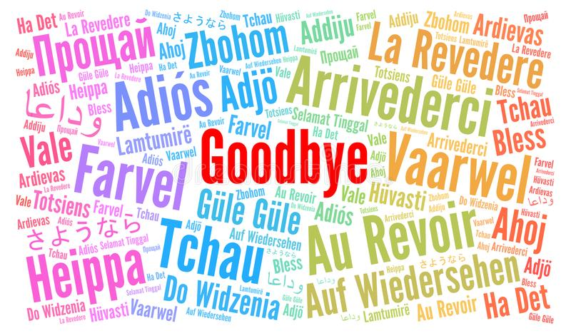 how to say goodbye in other languages