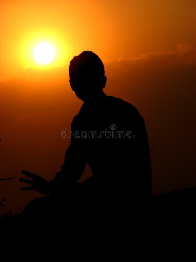 goodbye sun royaltyfri foto