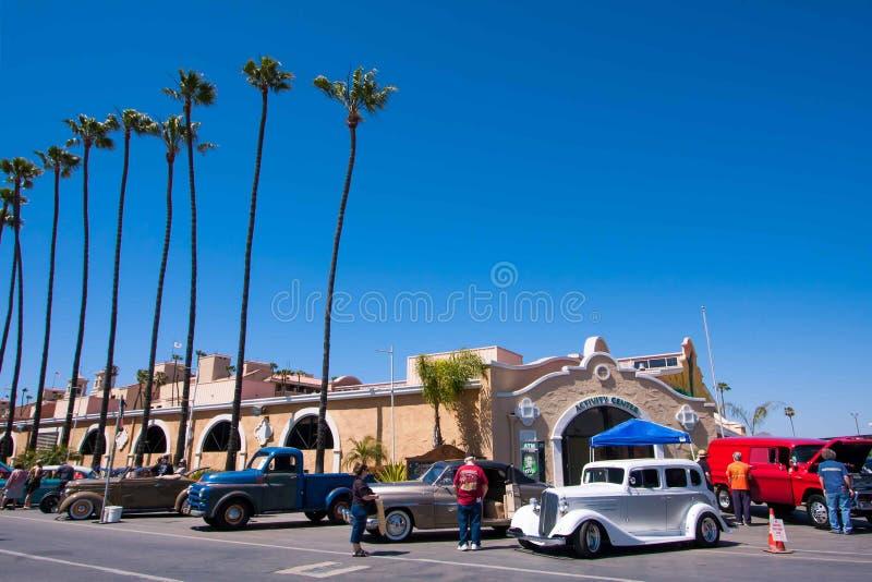 Goodguys bilshow 2015 i Del Mar, Kalifornien fotografering för bildbyråer