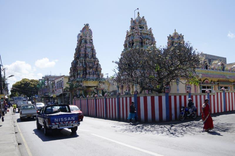 Goodlands - городок известный для своей подлинности, Маврикий стоковые фото