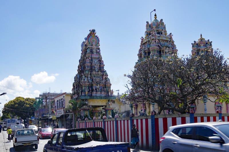 Goodlands - stad beroemd voor zijn authenticiteit, Mauritius royalty-vrije stock fotografie
