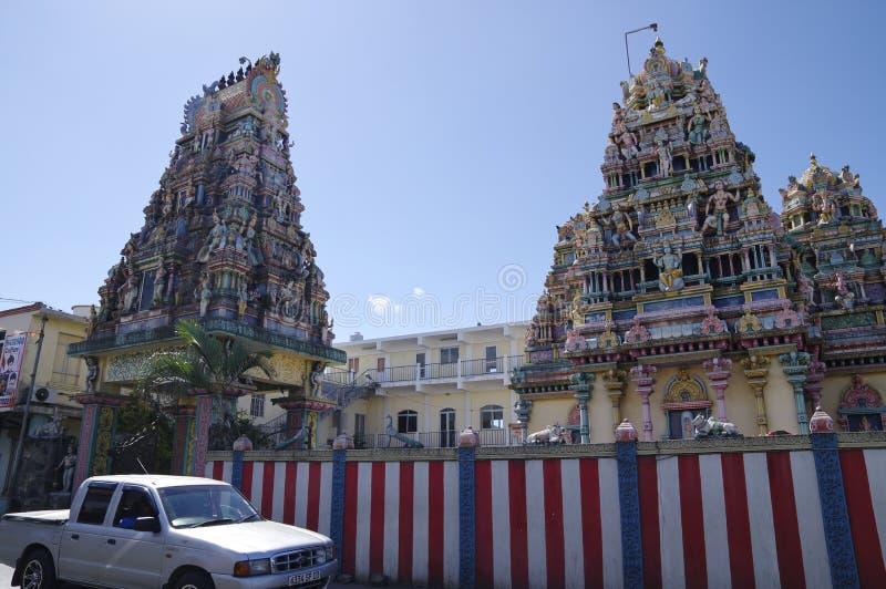 Goodlands - stad beroemd voor zijn authenticiteit, Mauritius stock foto