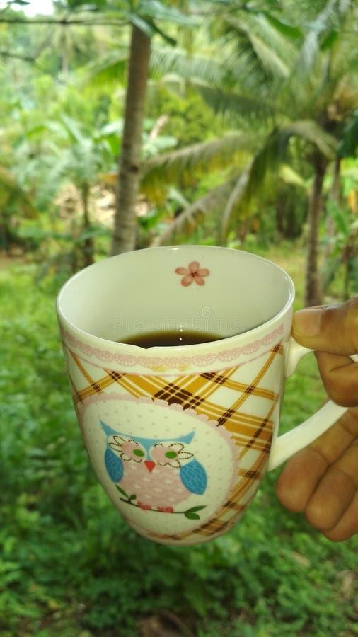 Goodmorningskoffie stock afbeeldingen