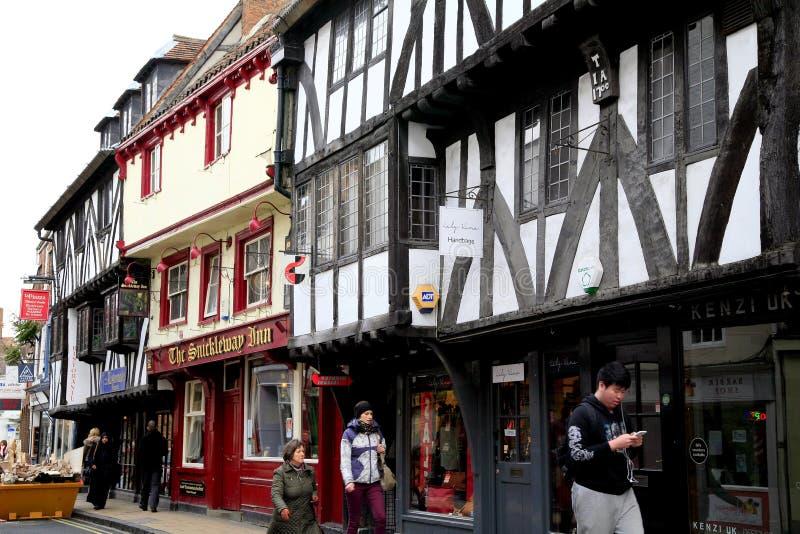 Goodramgate, York royalty-vrije stock foto's