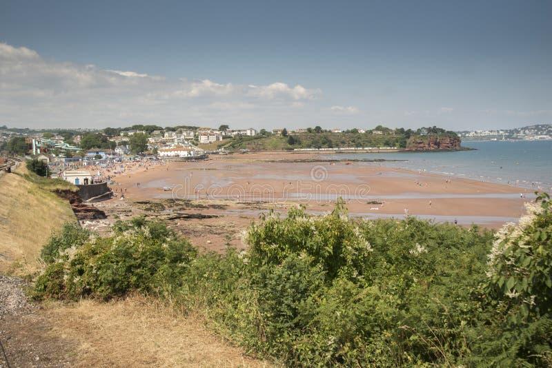 Goodrington зашкурит Torbay Великобританию стоковое изображение