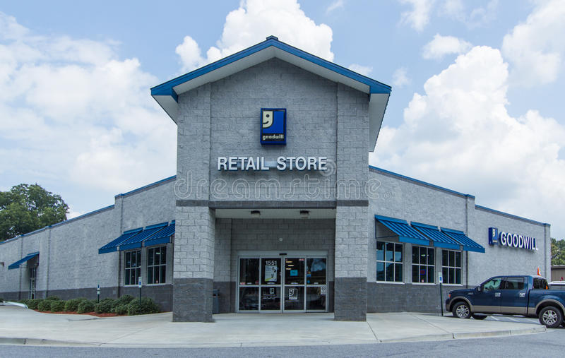 Goodwill Industries Retail Store royalty free stock images