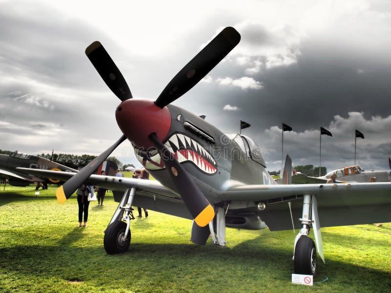 Goodwood Airshows - Wiederbelebung und Festival von Geschwindigkeit 2018 lizenzfreie stockbilder