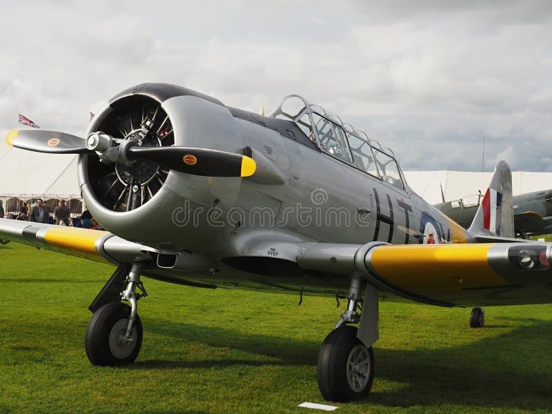Goodwood Airshows - Wiederbelebung und Festival von Geschwindigkeit 2018 lizenzfreies stockbild