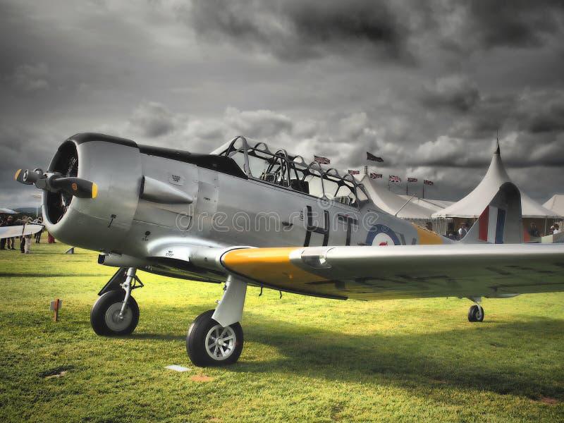 Goodwood Airshows - Wiederbelebung und Festival von Geschwindigkeit 2018 stockbild