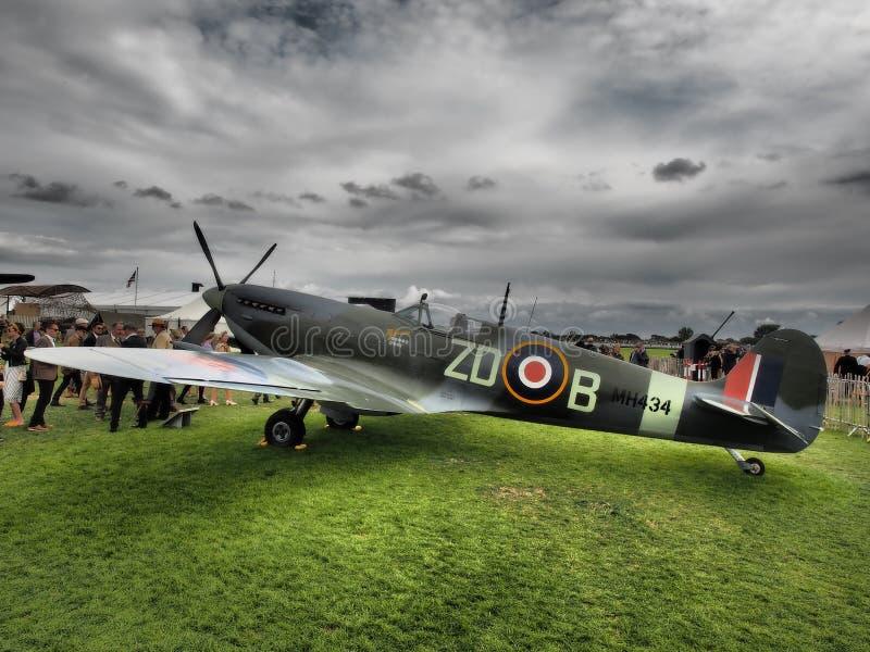 Goodwood Airshows - Wiederbelebung und Festival von Geschwindigkeit 2018 stockbilder