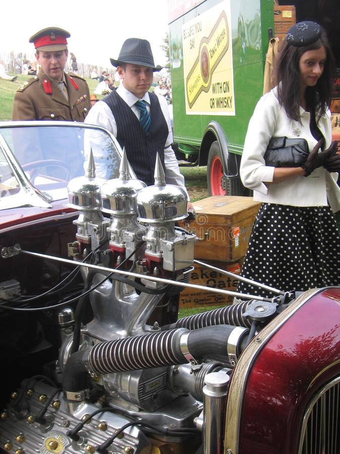 Goodwood Revival stock photography
