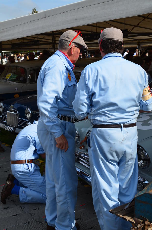 Goodwood Revival 2014. stock photo